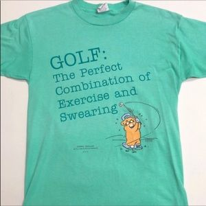 Vintage '80s Golfing Gopher T-shirt